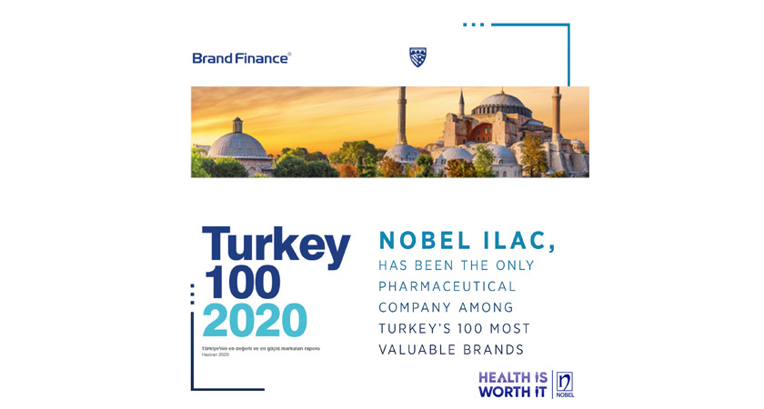Nobel Ilac Has Been The Only Pharmaceutical Company Among Turkey's 100 Most Valuable Brands