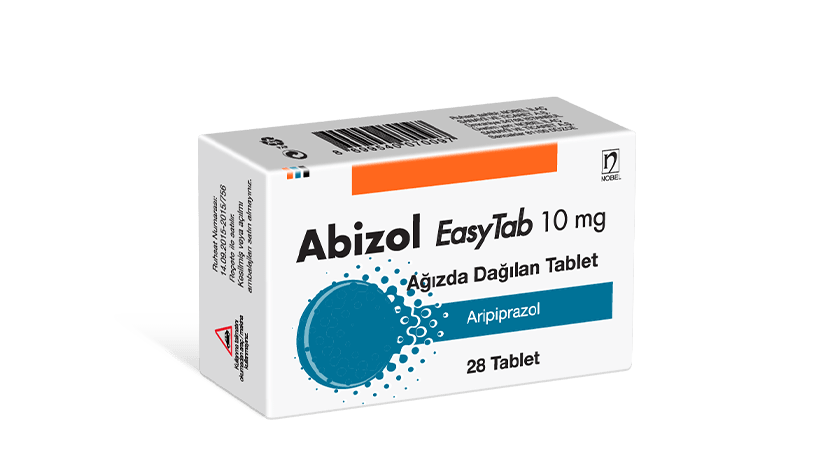 Abizol 10mg EasyTab 28 Tablets
