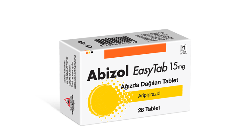 Abizol 15mg EasyTab 28 Tablets
