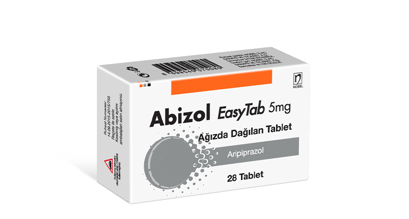 Abizol 5mg EasyTab 28 Tablets