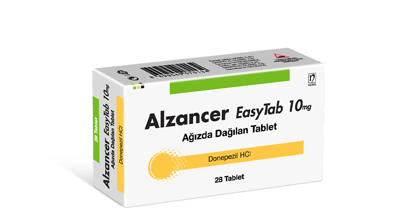 Alzancer EasyTab Ağızda Dağılan Tablet 10mg 28 Tablet