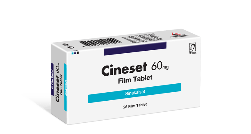 Cineset 60mg 28 Film Tablet