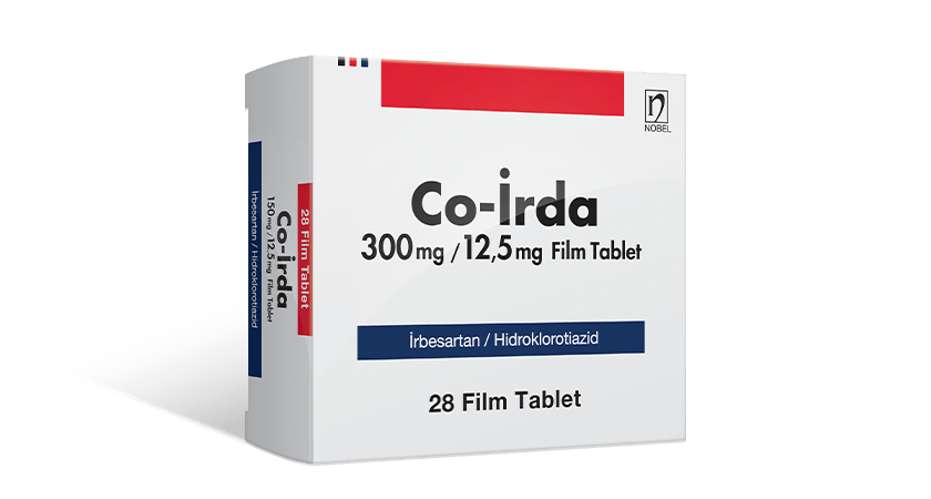 Co-İrda 300mg/12.5mg 28 Film Coated Tablets