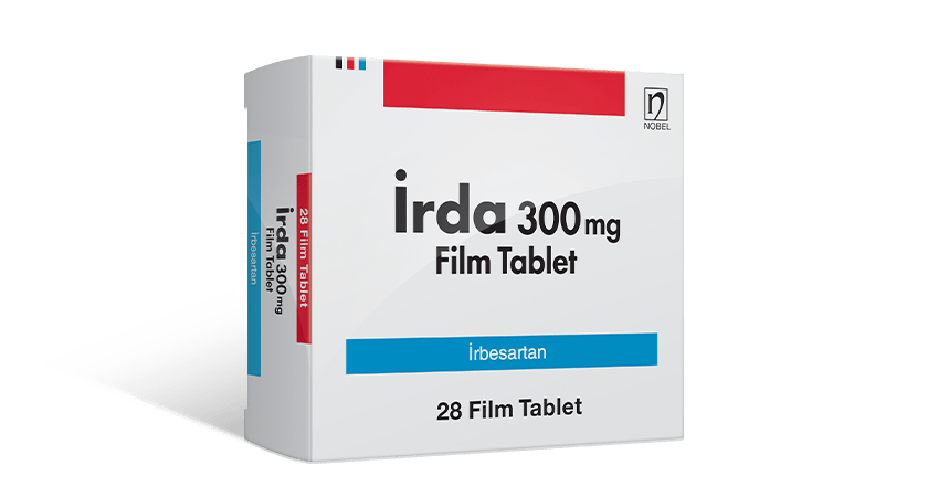 İrda 300mg 28 Film Kaplı Tablet