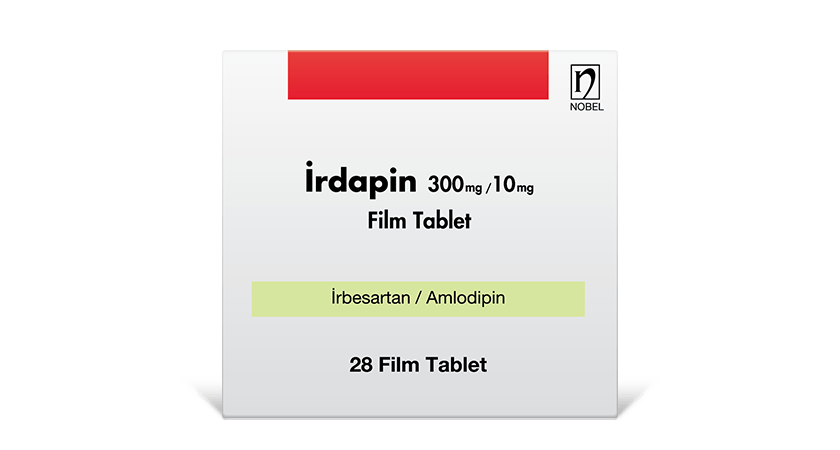 İrdapin 300mg/10mg 28 Film Tablet