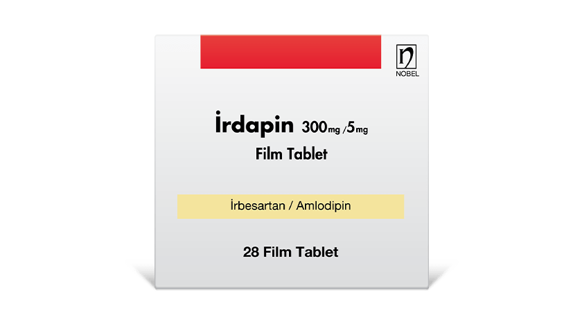 İrdapin 300mg/5mg 28 Film Tablet