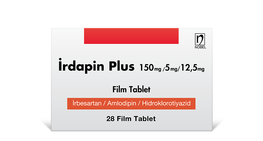 İrdapin Plus 150mg/5mg/12.5mg 28 Film Tablet