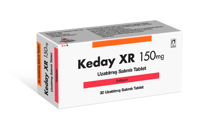Keday XR Extended Release 150mg 30 Tablets