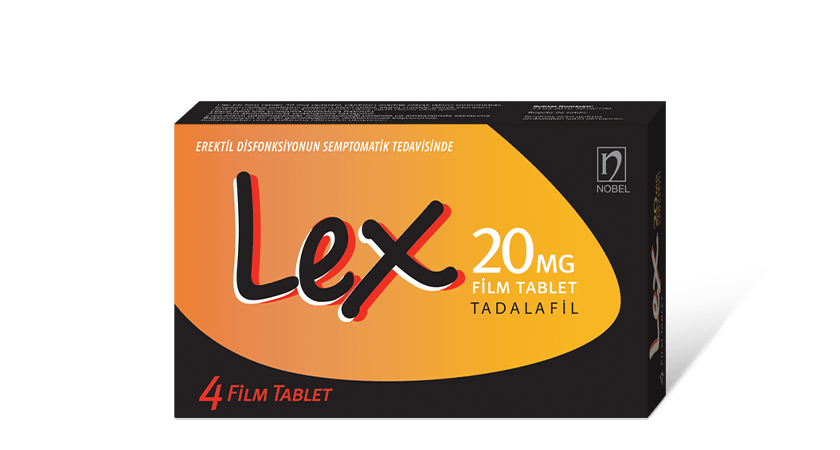 Lex 20mg 4 Film Coated Tablets