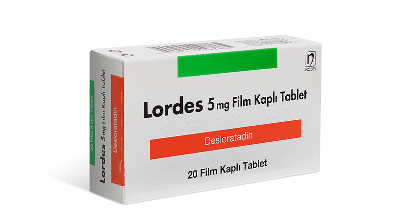 Lordes 5mg Film Kaplı Tablet