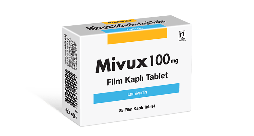Mivux 100mg 28 Film Coated Tablets