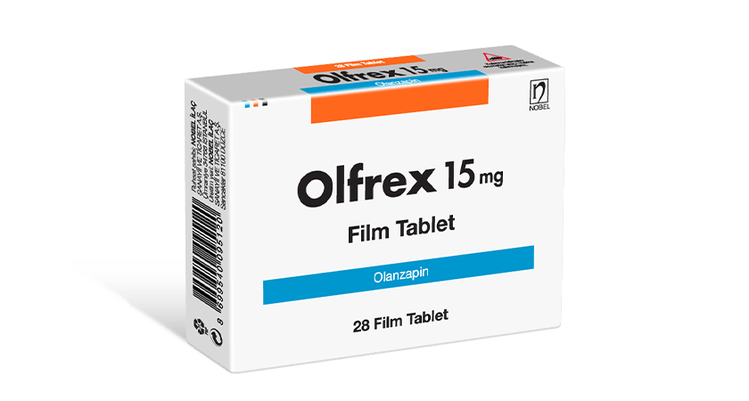 Olfrex 15mg 28 Tablets