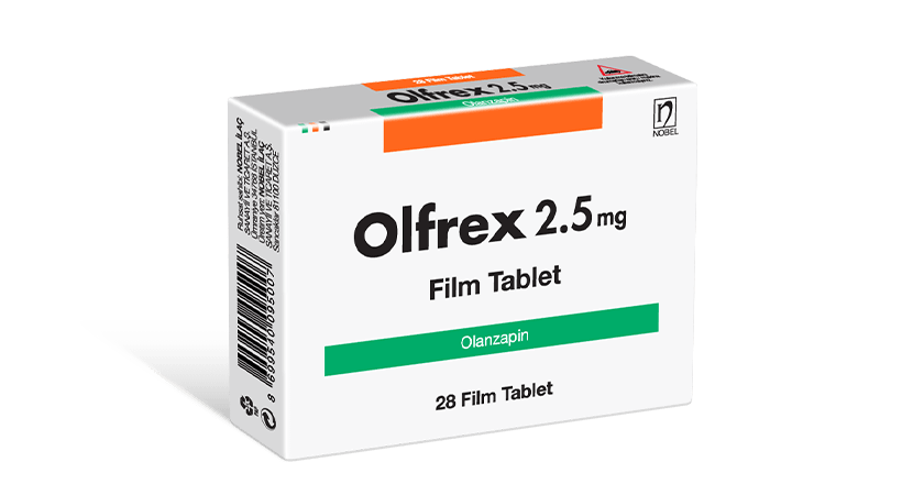 Olfrex 2.5mg 28 Tablets