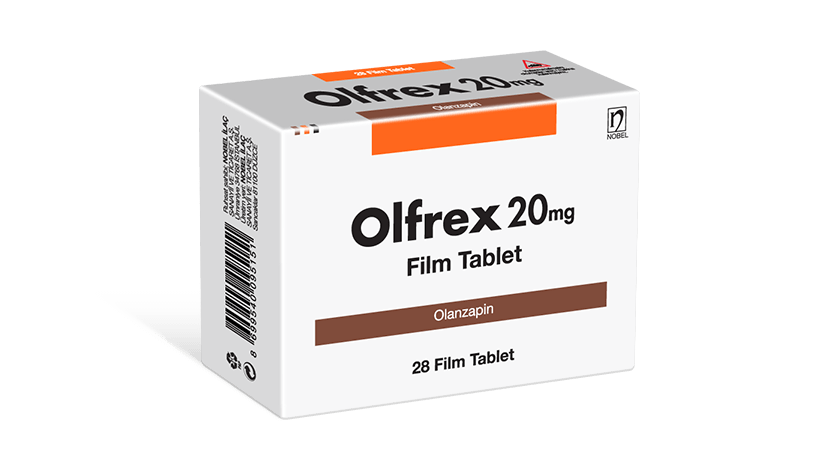 Olfrex 20mg 28 Tablets