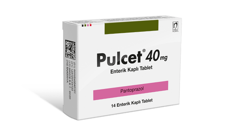 Pulcet 40mg Enterik Kaplı 14 Tablet