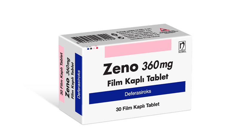 Zeno 360mg 30 Tablet